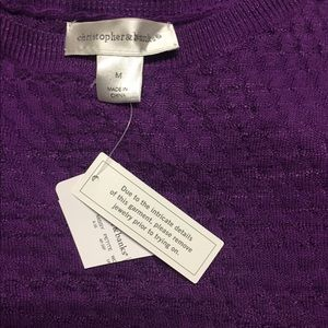 Christopher Banks sweater